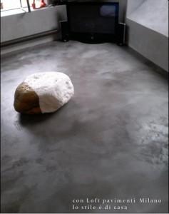 Pavimentazioni in cemento spatolato