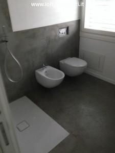 pavimento cemento bagno